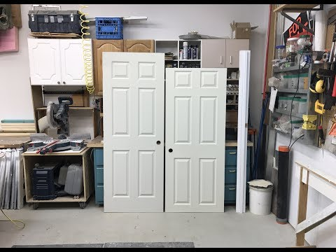 How To Cut Down A Door's Height