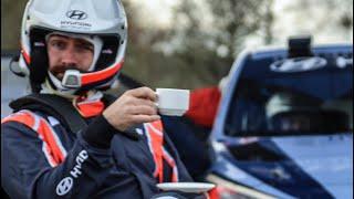On Board The £500,000 Hyundai i20 WRC Car!