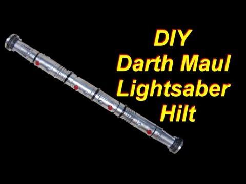 DIY Double Bladed Lightsaber Hilt (Darth Maul Star Wars Lightsaber)