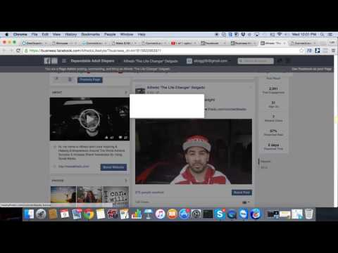Facebook Ads Training - Creating a Video Post Ad - Boost Post