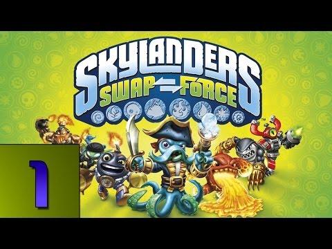 Skylanders Swap Force Gameplay: Get to Woodburrow - Part 1