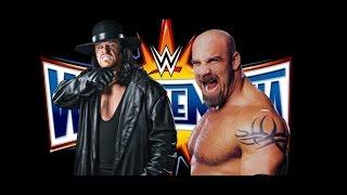 BREAKING WWE News The Undertaker WrestleMania 34 Goldberg WrestleMania 33