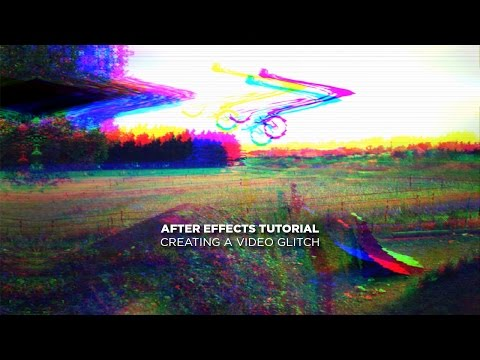 After Effects Tutorial - Creating a Video Glitch
