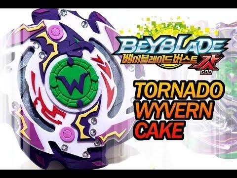 베이블레이드 버스트갓 토네이도 와이번 만들기 beyblade burst god Tornado Wyvern cake