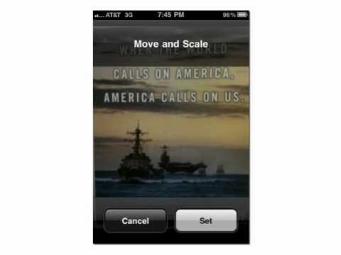 iPhone Setting Lock and Home Screen Images