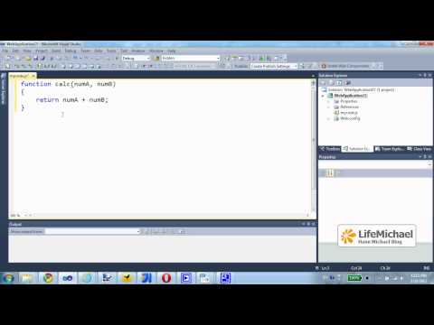 JavaScript Coding using Visual Studio