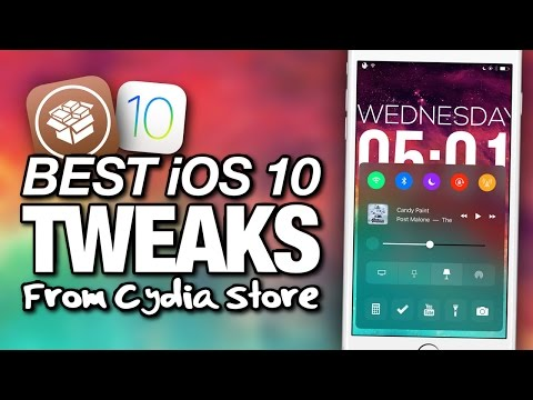 NEW Top 10 BEST iOS 10 TWEAKS From CYDIA On iPhone 7 Plus (iOS 10 JAILBREAK) Part 3