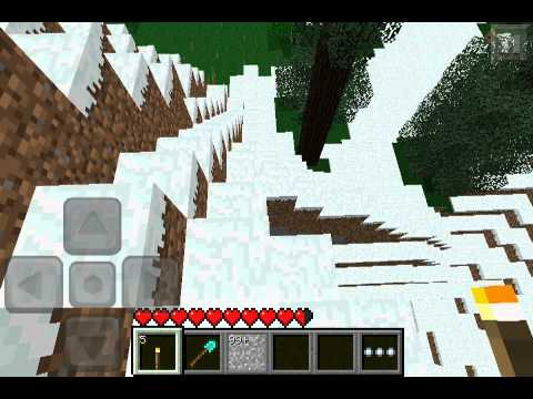 Minecraft pe Lets play: Invisible Bedrock