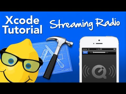 XCode 4.6 Tutorial Streaming Radio - Geeky Lemon Development