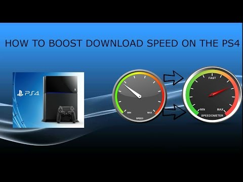 HOW TO MAKE YOUR DOWNLOAD SPEED FASTER ON YOUR PS4- (EASY AND SIMPLE)