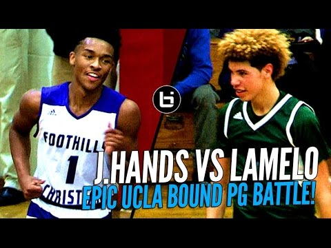 LaMelo Ball vs Jaylen Hands! Battle of Future UCLA Point Guards at The Battlezone!