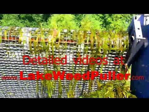 LAKE WEED CUTTING MACHINE