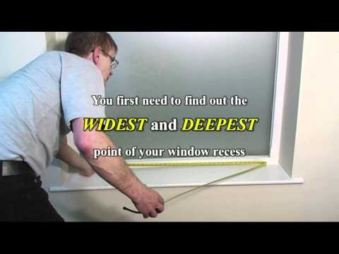 How to Measure for Wooden Blinds