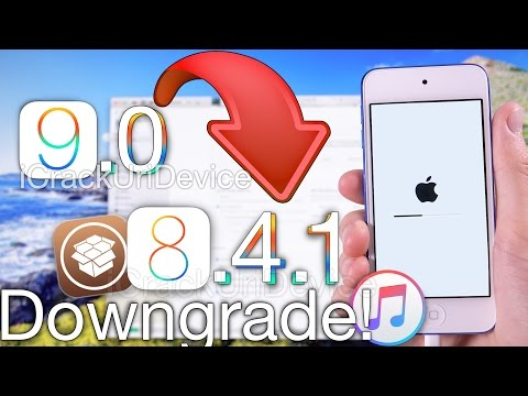 Downgrade iOS 9 to iOS 8.4.1 & Jailbreak Update - ANY iPhone, iPad & iPod Touch Restore