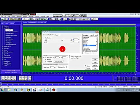Adobe audition 1.5 Rap Vocal Mixing