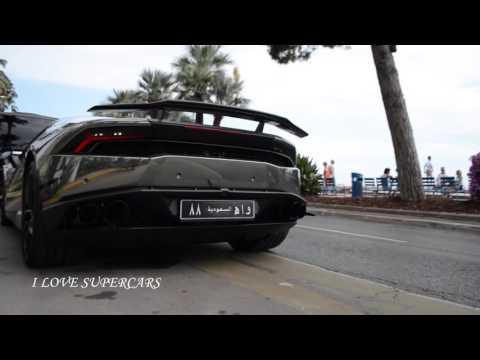 Lamborghini Huracan in Black Chrome