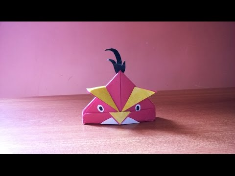 How to Make a simple Paper Angry Bird