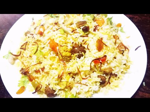 Vegetable biriyani recipe in malayalam / How to make malabar special vegetable biriyani
