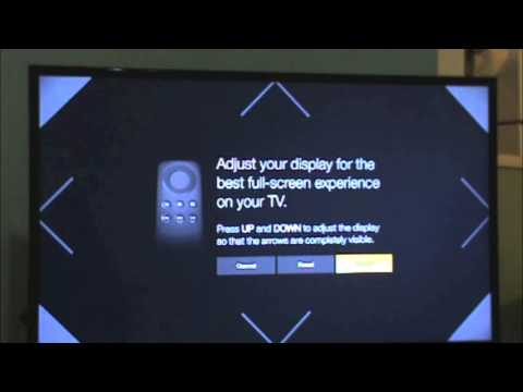 Tutorial Guide How to Adjust Display or Calibrate Display on Amazon FireTV or Stick