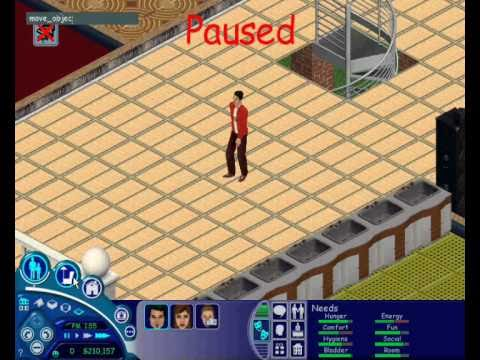 The Sims 1 - PC  - Motives Cheat