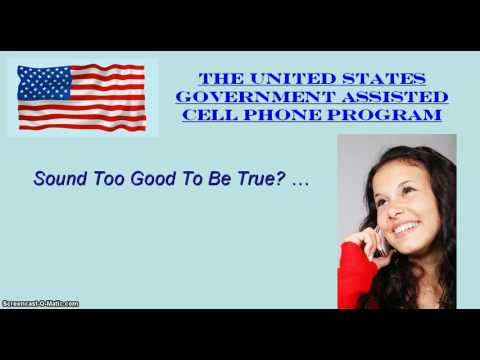 Obama Free Cell Phone Plan