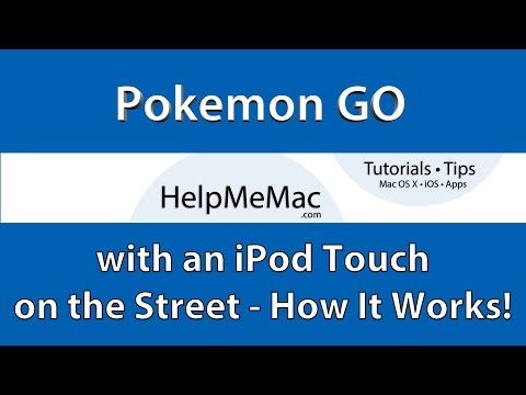 How to play Pokémon Go with an iPod Touch GPS Signal not found | Tutorial #006 | Help Me Mac