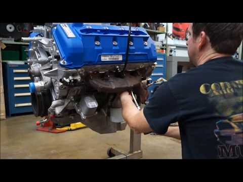2013 GT500 5.8 ENGINE BUILD By Competition Auto  PART3