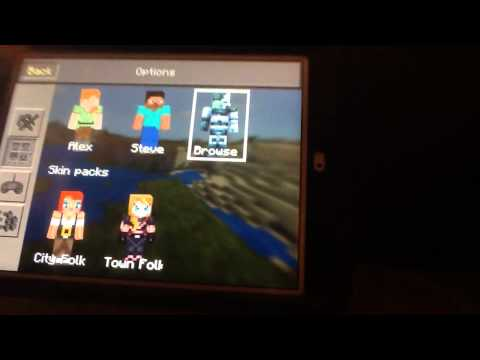 How to install skins to Minecraft PE No PC/Jailbreak
