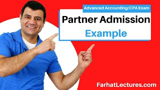 Partner Admission | Goodwill Method | Bonus Method | Advanced Accounting | Partnership Accounting