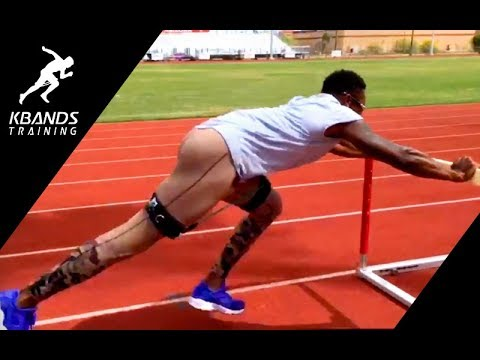 Increase Stride Length For Sprint Speed | Hurdle Push