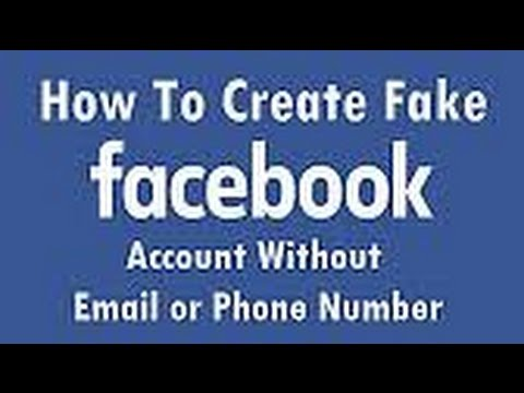 create fake facebook account fast easy way 2017