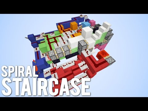 Minecraft: ULTIMATE Hidden Spiral Staircase!