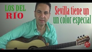 RUMBA SEVILLA TIENE UN COLOR ESPECIAL, LOS DEL RÍO, Tutorial (Jerónimo de Carmen) Guitarraflamenca