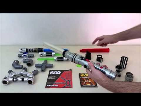 Star Wars BladeBuilders vs Ultimate Lightsaber Kit Review