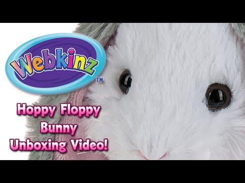 Webkinz Hoppy Floppy Bunny Unboxing - NEW pet February 2016!