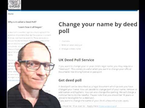 Deed Poll Passports - When You Should Tell Passport Change of Name