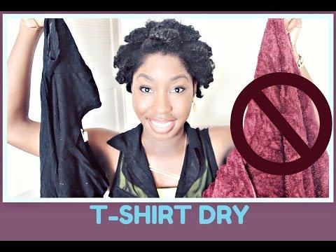 T-SHIRT DRY NATURAL HAIR