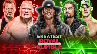 WWE Greatest Royal Rumble Highlights Match Card Predictions ! Greatest Royal Rumble Predictions !