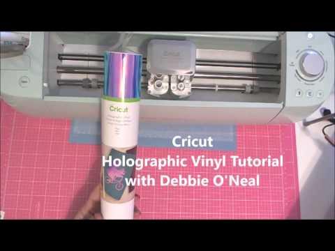 Cricut Holographic Vinyl Tutorial