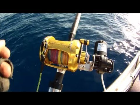 FISH WINCH® - Electric Fishing Reel Drives (Penn International 50VW)