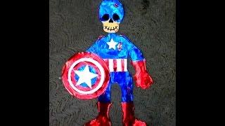 Diy Esqueleto De Papel Decórala Para Niños Artista Michael