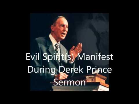 Evil Spirit(s) Manifest During Derek Prince Sermon
