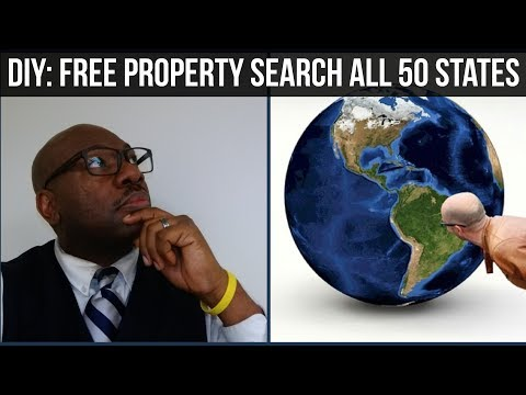 DIY: Free Property Search for Real Estate Investors in all 50 States - [Property Research]