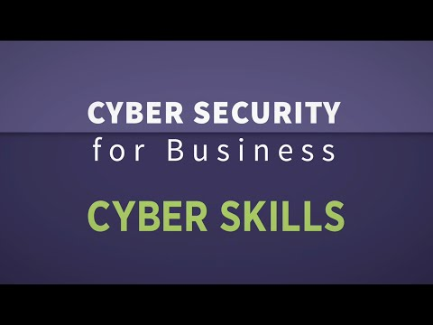 Cyber Skills - for new talent and industry