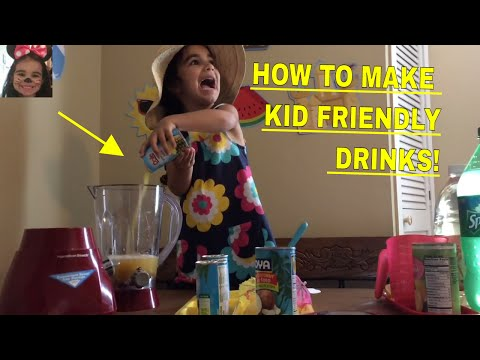 How To Make Kid Friendly Princess Punch and Pina Colada Surprise Time