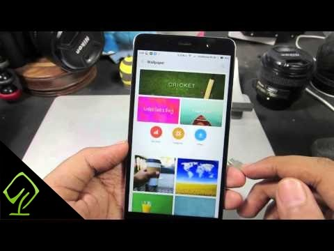 How to Change Home screen Wallpaper and Lock screen Wallpaper on Redmi Note 3
