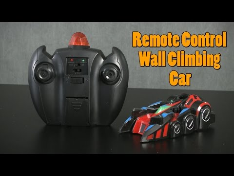 Remote Control Wall Climbing Car from Thumbs Up!