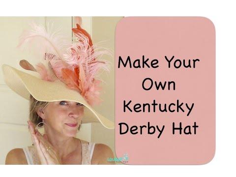 DIY Derby Hat (Make Your Own Kentucky Derby Hat)