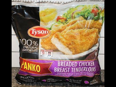 Tyson Panko Breaded Chicken Breast Tenderloins Review