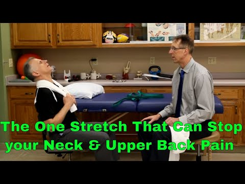 The One Stretch That Can Stop Your Neck, Upper Back, & Shoulder Pain